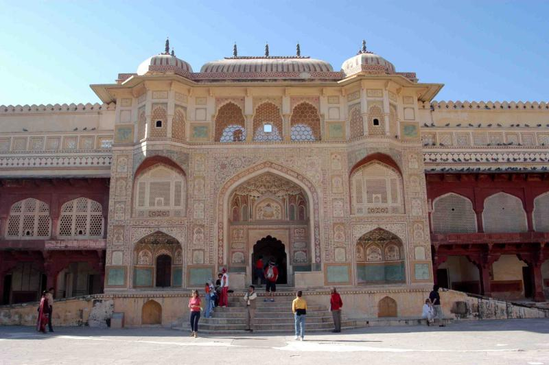 Ganesh Pol -- The Gate of the Amber Palace